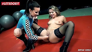 LETSDOEIT - Horny German Milf Dominated And Not Allowed to Cum