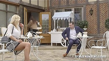 Private.com - Top Heavy Milf Tiffany Rousso Fucked By Waiter