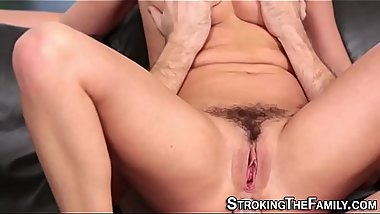 Anally fucked stepsister