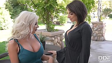 Big Titty Vixen fuck off with Savannah Stevens &amp_ Darcie Dolce