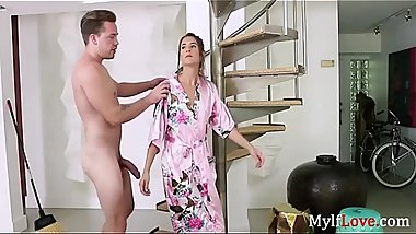 She is reluctant about fucking her SON- Tara Ashley