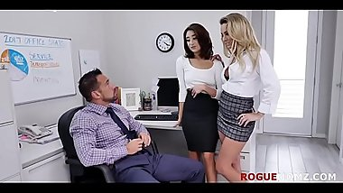 MILF teaches Intern how to be in BOSS'_s good books- Isabella Nice &amp_ Isabella Deltore