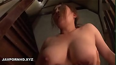 Nephew gives good sex to Japanese milf aunty