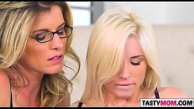 Ma Cory Chase Alluring Piper Perri and her GF