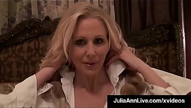 World Famous Milf Julia Ann Titty Fucks A Big Hard Cock!