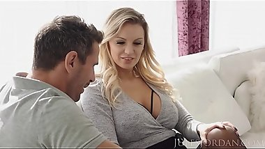 Jules Jordan - Kenzie Taylor'_s Fantasy Comes True, She Gets Manuel'_s Cock In Her Ass!