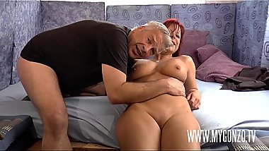 Euro Sex Trip: Dieter Von Stein Seduces Redhead Crazy German Slut Jolyne Joy Into A Rough Hard Fuck In The Sex Van By Reinhard With A Cumshot In Her Fuckmouth