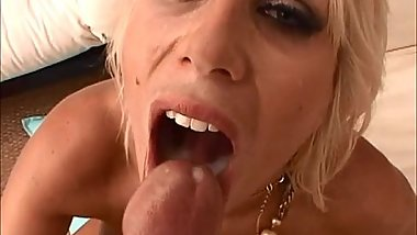 Big Titted Puma Swede Swallows A Load Poolside!