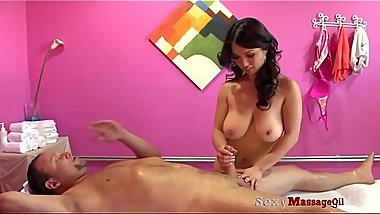 SexyMassageOil - Huge Tits Mom Thai Massage Fucking