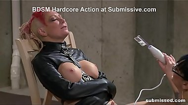BDSM Mistress Spits and Dominates - MILF FemDom Action!