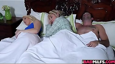Milf Maxim Law sneak into bedroom to fuck Darcie Belles boyfriend!