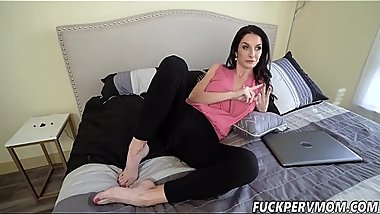 Silvia Saige Fingered By Her STEPSON