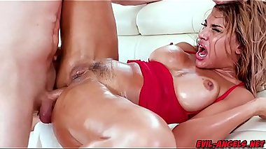 Hot Mercedes Carrera getting double team by Markus Dupree and Bill Bailey!