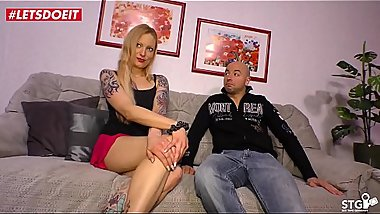 German Amateur Milf Makes a Sex-Tape with Her Nephew