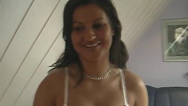 Latin MILF Hungry for Fat White Dick