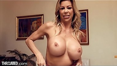 Throated New BIG TITS MILF Alexis Fawx Knows How 2 Suck Ur Cock!