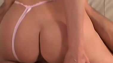Milf is on her knees sucking a cock naked