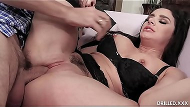 Big Tit MILF Sheena Ryder Loves Anal And Having a Stiff Cock Pounding Her Ass