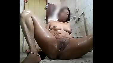 Bathroom hard fingering